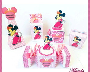 KIT Personalizados Minnie Princesa