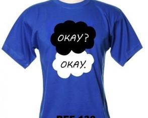 bdb1064c21 Camiseta a Culpa e das Estrelas Okay