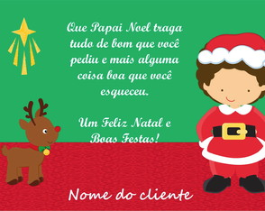 Cartao Virtual de Natal