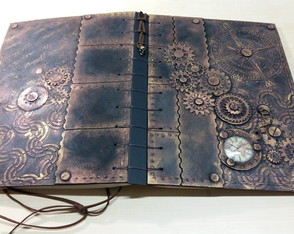 Sketchbook Steampunk A4 - Special Edition