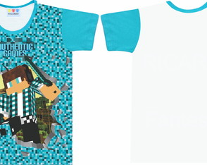 Camisa Infantil Authentic Games
