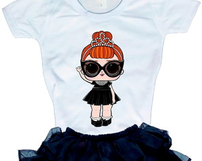 Camiseta Boneca LOL surprise It Baby