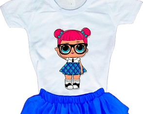 Camiseta Boneca LOL Surprise Teacher's Pet