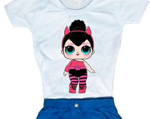 Camiseta Boneca LOL surprise Spice