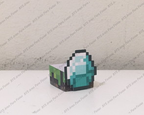 Forminha para docinho - Authentic Games - Minecraft