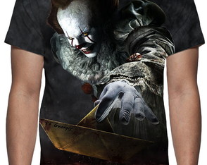 Camiseta It A Coisa Pennywise - Estampa Total
