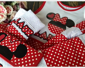 kit escolar - MINNIE RED