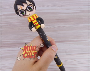Caneta Harry Potter Chibi