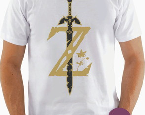 Camiseta The Legend of Zelda