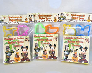 Kit Massinha Mickey Safari Personalizados