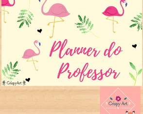Planner do Professor - Flamingo
