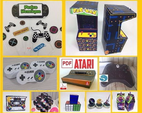 Kit Video Game Arquivo Corte Silhouette