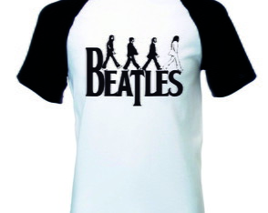 Camiseta Raglan The Beatle.s Banda Rock