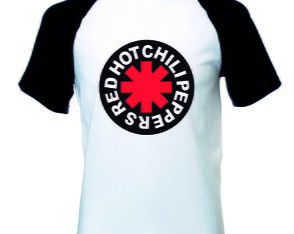 Camiseta Raglan Red Hot Banda Rock