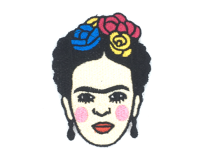 Patch Bordado Termocolante Frida Kahlo