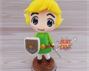 Toy Chibi Link - The Legend of Zelda
