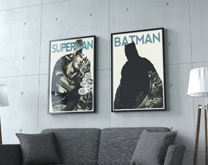 Posters Batman e Superman