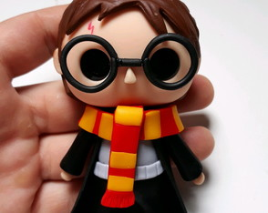 Harry Potter em biscuit mini Funko