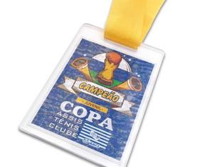 c69c9b32b11 ... Troféu Tênis em Acrílico Personalizado Kit 10 Medalhas em Acrílico  Personalizada