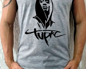 Camiseta Regata Tupac Rap Hip Hop 2pac