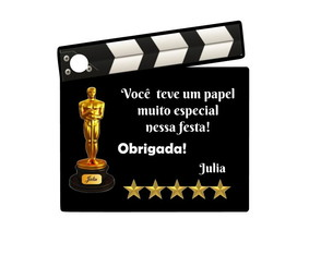 Tag Agradecimento Hollywood