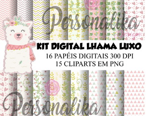 KIT DIGITAL LHAMA LUXO