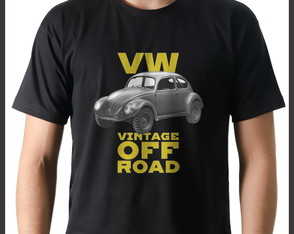 Camiseta Carro Fusca VW Vintage Off-Road