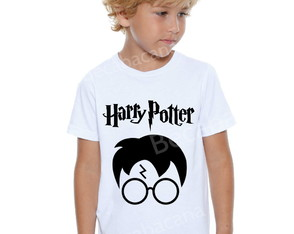 Camiseta Infantil Harry Potter
