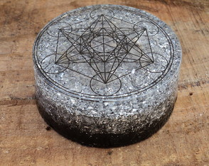 Orgonite Tower Buster Cubo de Metatron