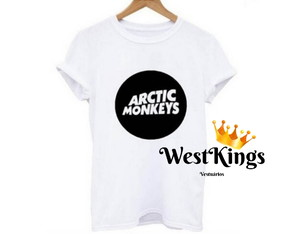 Camiseta Arctic Monkeys T-shirt Rock In Rio Lollapaloosa