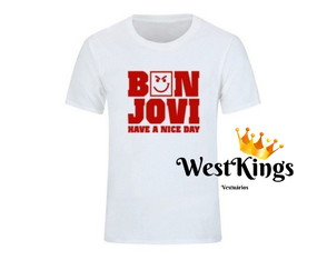 Camiseta Bon Jovi Rock in Rio