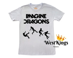 Camiseta Imagine Dragons Rock In Rio