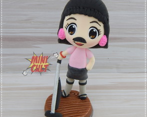 Toy Chibi Freddie Mercury - I Want to Break Free