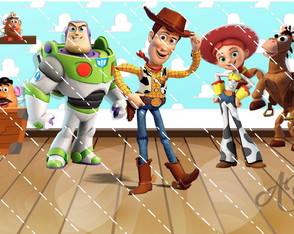 Arquivo Digital Painel Toy Story