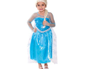 FANTASIA PRINCESA DO GELO FROZEN P M