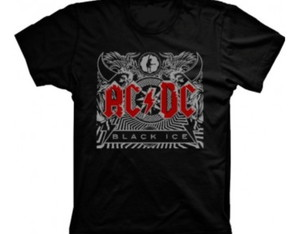 Camiseta Banda Acdc Black Ice
