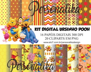KIT DIGITAL URSINHO POOH