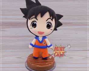 Mini Toy Chibi Goku - Dragon Ball Z