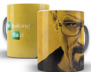 Caneca personalizada breaking bad series rock drogas drugs