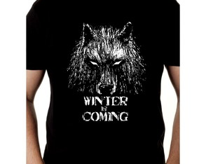 Camiseta Game of Thrones Camisa Winter is Coming