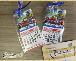 MIni Calendario lego Vingadores