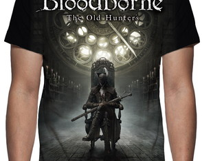 Camiseta - Game Bloodborne The Old Hunters