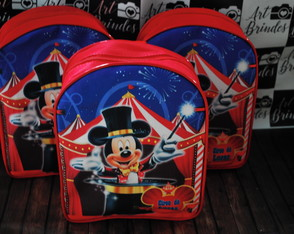 Mochila Circo do Mickey