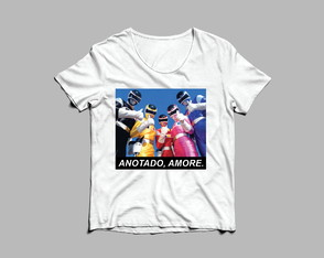 T-shirt Power Rangers
