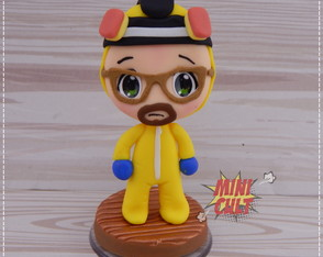 Mini Toy Chibi Walter White / Heisenberg (Breaking Bad)
