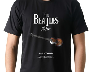 Camiseta Camisa Rock Paul McCartney Contrabaixo Hofner