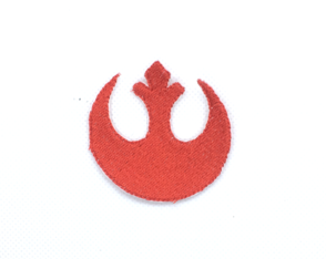 Patch Bordado Termocolante Star Wars Aliança Rebelde