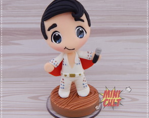 Mini Toy Chibi Elvis Presley