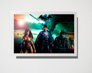 Quadro A5 batman vs superman