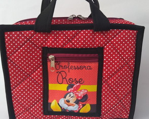 Estojo Maleta tema Minnie